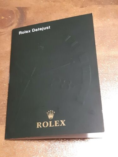 MANUALE ROLEX DAYEJUST
