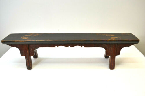 Asian Chinese  Antique Bench  ( Step Bench ) AU19-04