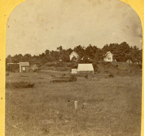 Old Orchard MAINE: Camp Grounds (Camp Meeting) Sea View Ave; Allen C363