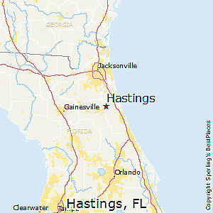 Pre-foreclosure Florida Tax Lien Certificate For  Land 1.14 Acres Hastings, Fl