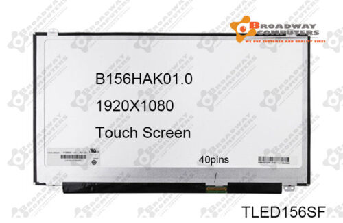 Dell Inspiron 5559 FHD Touch LCD Screen LED LP156WF7(SP)(A1) compaitble