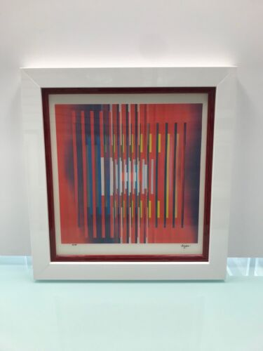 """Yaacov Agam Agamograph """" In Deep Prayer """"  Signed & Numbered Limited Edition"""