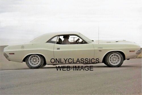 Barry Newman Conducción 1970 Dodge Challenger R/T 440 IN Vanishing Point 8X12