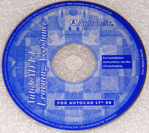 AutoCAD LT 98 Learning Assistant CD-ROM