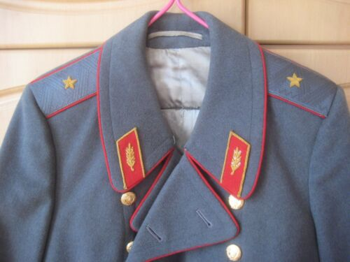 = Soviet AUTHENTIC General's Parade winter gray COAT (made in 1960's-1970's) =Original Period Items - 13982