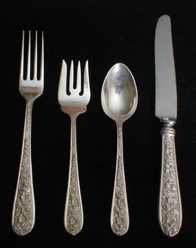 Stieff CORSAGE four piece place setting