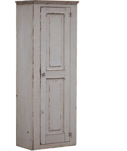 CUPBOARD FARMHOUSE CABINET PAINTED PRIMITIVE COUNTRY SHABBY CHIC PINE FURNITURE