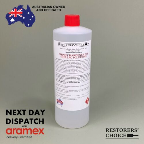 SHELLAC HARDENER for shellac solutions 1 litre