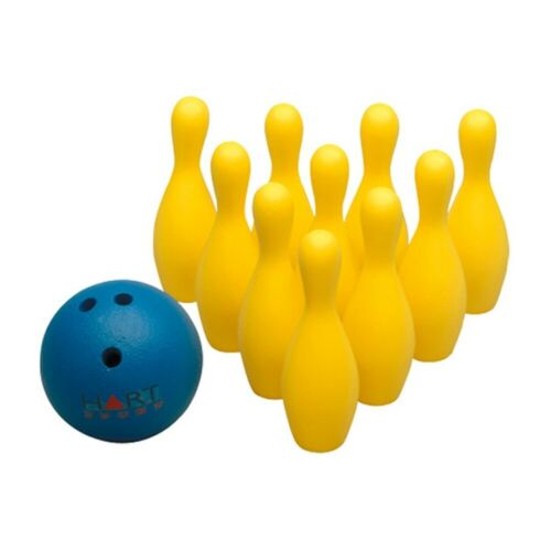 10 Pin Foam Bowling Set with Ball and Zip Carry Bag