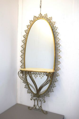 Console with Mirror by Pierluigi Colli, Italy, 1960s