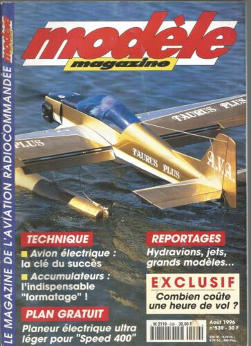 MODELE MAG N°539 PLAN : LE SIROCCO / COURANT PULSE ET FORMATAGE POUR ACCUS