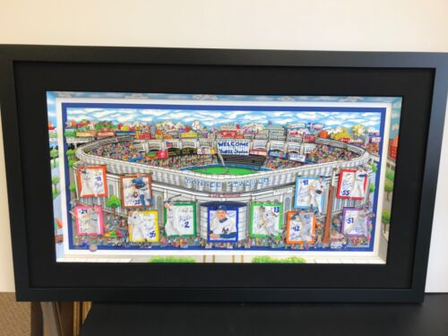 """Charles Fazzino """" In a Yankee State of Mind """" 3-D Artwork Signed & Numbered DX"""