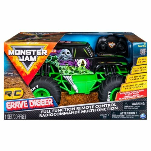 Monster Jam Radio Control Grave Digger 1:15 Scale