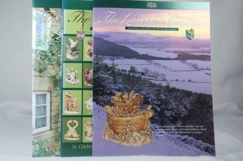 Harmony Kingdom Set Of 3 'The Queens Courier' Quarterly Newsletter #29/32 & 33