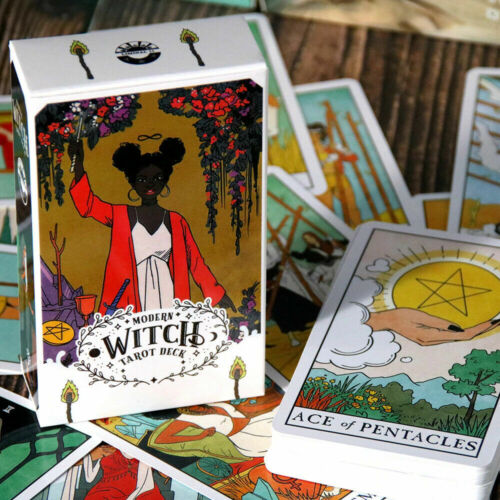 The Modern Witch Tarot Deck Cards Board Game Brand New Fortune Telling