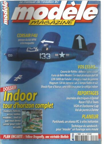 MODELE MAG N°639 PLAN : YELLOW DRAGONFLY/DOSSIER : INDOOR TOUR D'HORIZON COMPLET
