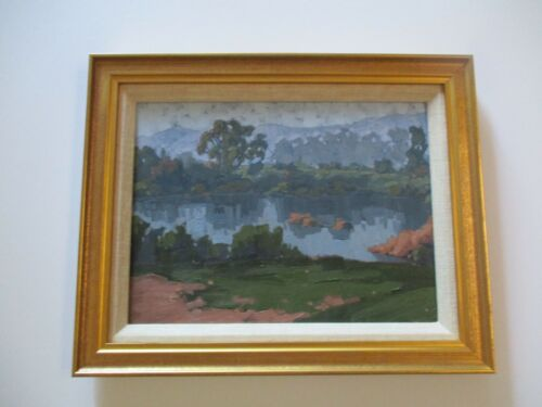 MATTHEW MICHAEL REYNOLDS  OIL PAINTING LISTED AMERICAN CALIFORNIA  AUTHENTIC