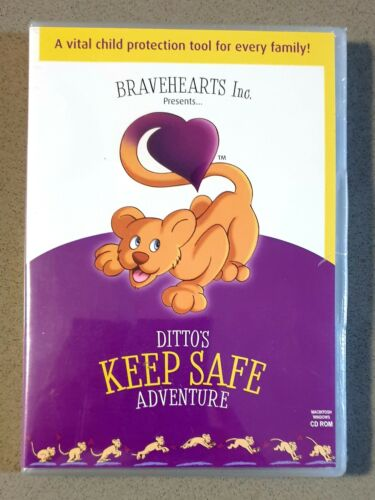 Ditto's Keep Safe Adventure  [NEW & SEALED CD ROM] FREE POST Australia Wide.