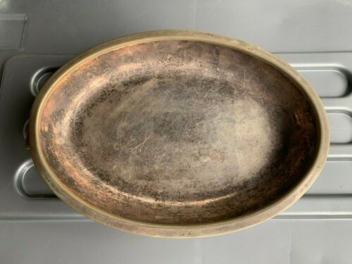 1934 PRESENTATION SILVER PLATE TRAY / BOWL, NO 1 PLATOON 'TOMMY' PALS
