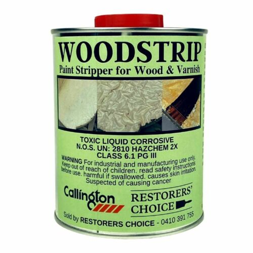 WOOD STRIP PAINT STRIPPER for paint and varnish removal Callington Haven 1L