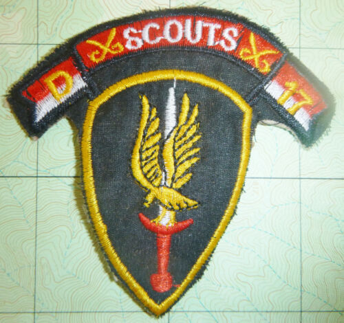 SABRES - Patch - RECON SCOUTS - DELTA  - 17th Air Cavalry - Vietnam War - 2987Patches - 104015