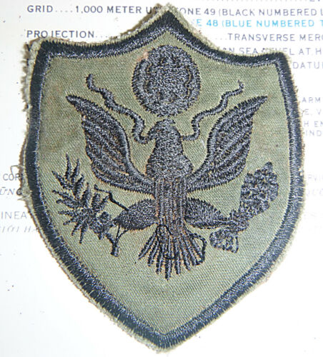 US ARMY - Patch - Subdued - SUBDUED - Vietnam War - 5241Patches - 104015
