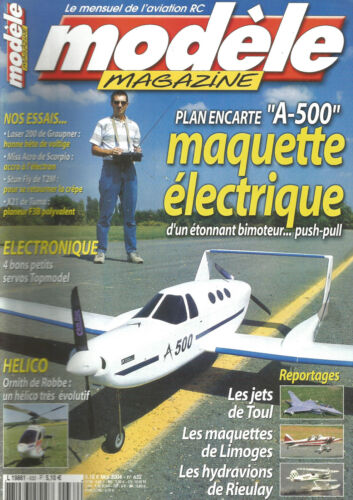 MODELE MAG N°632 PLAN : A-500 / LASER 200 / MISS ACRO / STUN FLY / X 21 / HELICO