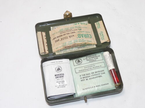 Vintage Bell System S Lineman's First Aid Kit