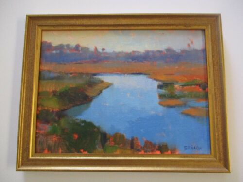 CATHERINE GRAWIN PLEIN AIR PAINTING CALIFORNIA LISTED IMPRESSIONIST LANDSCAPE