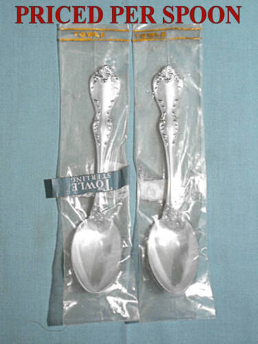 NEW ~ TOWLE STERLING TEASPOON(S) ~ DEBUSSY
