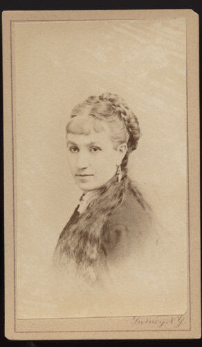 CDV * ADA HARLAND * ACTRESS * PHOTO