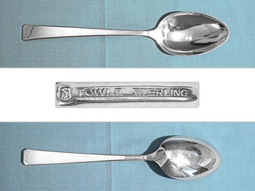 TOWLE STERLING SERVING SPOON ~ CRAFTSMAN ~ NO MONO