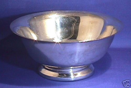 "F.B Rogers 6"" Silverplate Bowl Paul Revere Reproduction"