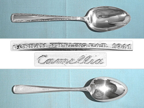 GORHAM STERLING SERVING SPOON ~ CAMELLIA ~ NO MONO