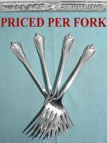 WALLACE STERLING SALAD FORK(S) ~ GRAND COLONIAL ~ NO MONO