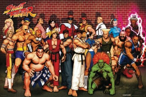 STREET FIGHTER POSTER Amazing Cast RARE HOT NEW 24x36