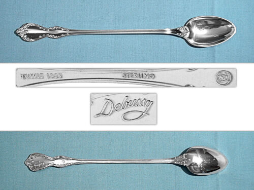 TOWLE STERLING ICED TEA SPOON(S) ~ DEBUSSY ~ NO MONO