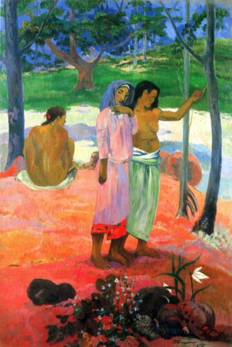 Call For Freedom by Paul Gauguin Giclee Fine ArtPrint Reproduction on Canvas