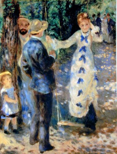 Famille by Pierre-Auguste Renoir Giclee Fine ArtPrint Reproduction on Canvas