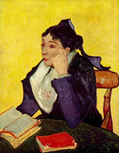 Madam Ginoux by Vincent Van Gogh Giclee Fine Art Print Reproduction on Canvas