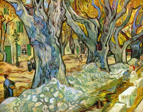 Roadman by Vincent Van Gogh Giclee Fine Art Print Reproduction on Canvas
