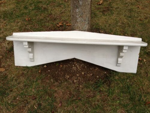 Antique Pine Fireplace Mantel