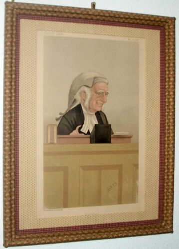 Guileless, Vanity Fair ORIGINAL LITHOGRAPH, Legal, Framed