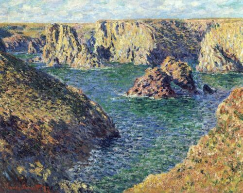 Port-Donnant by Claude Monet Giclee Fine ArtPrint Repro on Canvas