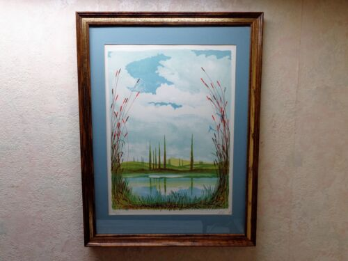 Antonio Falco Collector's Guild Framed Lithograph Signed Numbered 74/275 Og Box