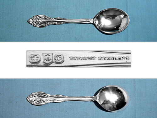 GORHAM STERLING CREAM SOUP SPOON(S) ~ LA SCALA ~ NO MONO