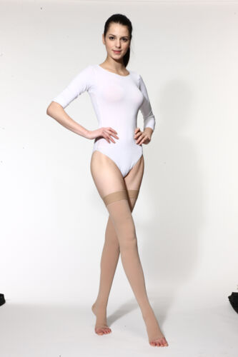 Compression Thigh High Stockings By Jinni MD Morocco NEW
