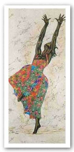 Black Freedom by Alonzo Saunders African-American Signed Art Print 26x34