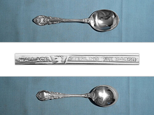 WALLACE STERLING CREAM SOUP SPOON(S) ~ SIR CHRISTOPHER ~ NO MONO