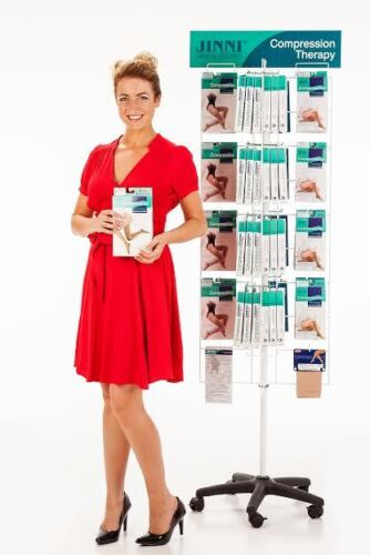 Medical Compression Stockings Knee High By Jinni MD Compression NEW